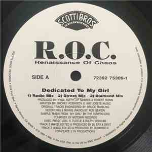 R.O.C. - Dedicated To My Girl album flac