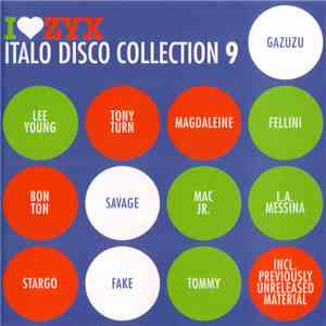 Various - I Love ZYX Italo Disco Collection 9 album flac