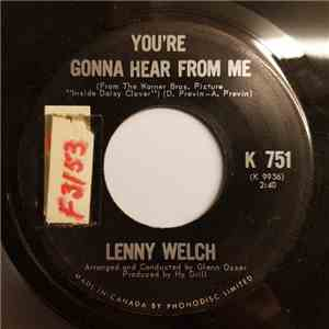 Lenny Welch - You're Gonna Hear From Me album flac