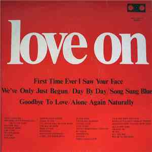 Alan Caddy, His Orchestra And Singers - Love On album flac