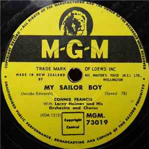 Connie Francis With Leroy Holmes And His Orchestra And Chorus - My Sailor Boy / Everyone Needs Someone album flac