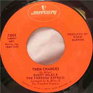 Buddy Miles & The Freedom Express - Them Changes album flac