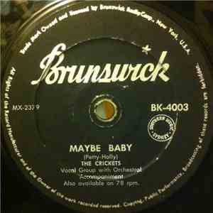 The Crickets  - Maybe Baby / Rock Me My Baby album flac