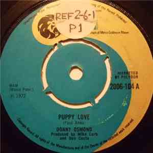 Donny Osmond - Puppy Love album flac