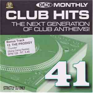 Various - DMC Monthly Club Hits 41 album flac