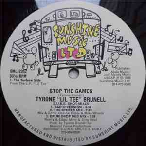 "Tyrone ""Lil Tee"" Brunell - Stop The Games album flac"