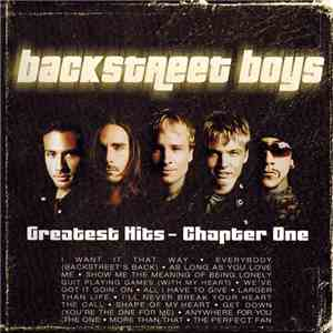 Backstreet Boys - Greatest Hits - Chapter One album flac