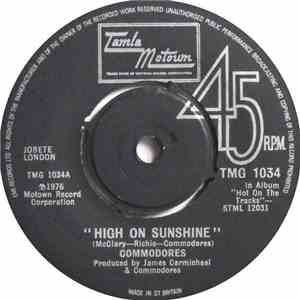 Commodores - High On Sunshine album flac