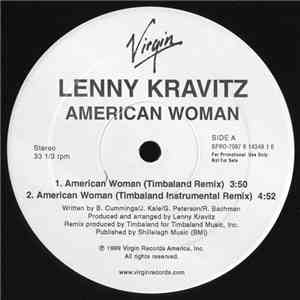 Lenny Kravitz - American Woman / Straight Cold Player album flac