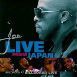 Joe - Live From Japan album flac